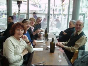 Déjeuner à la brasserie La Taverne